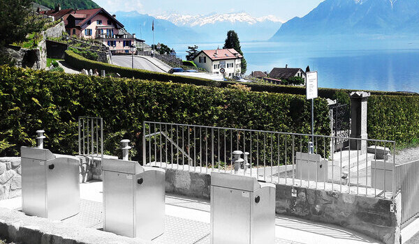 Five ecopoints are set up in Bourg-en-Lavaux